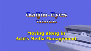 tutorials, avid, media, management, gaijin, eyes, douglas